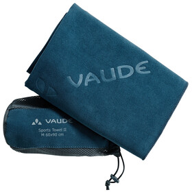 VAUDE Sports II Towel M blue sapphire